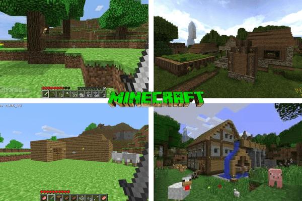 Minecraft Pocket Edition v1.2.0.18 Gratis Download / Baixar