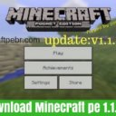 Minecraft Pocket Edition 1.1.0.0 Apk Download Grátis
