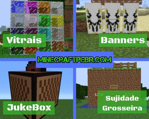 Novas atualizações do Minecraft 1.2.0